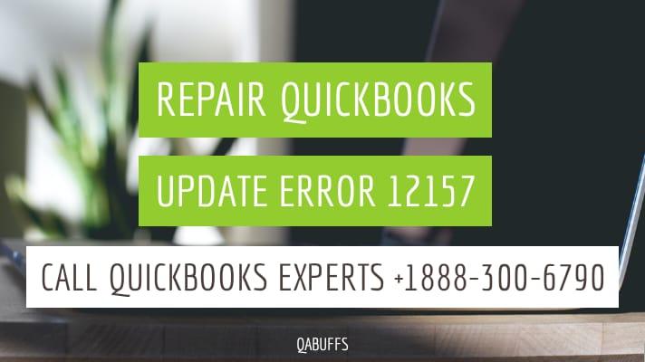 quickbooks error 12157