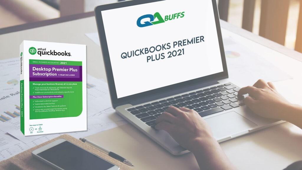 QuickBooks premier plus 2021