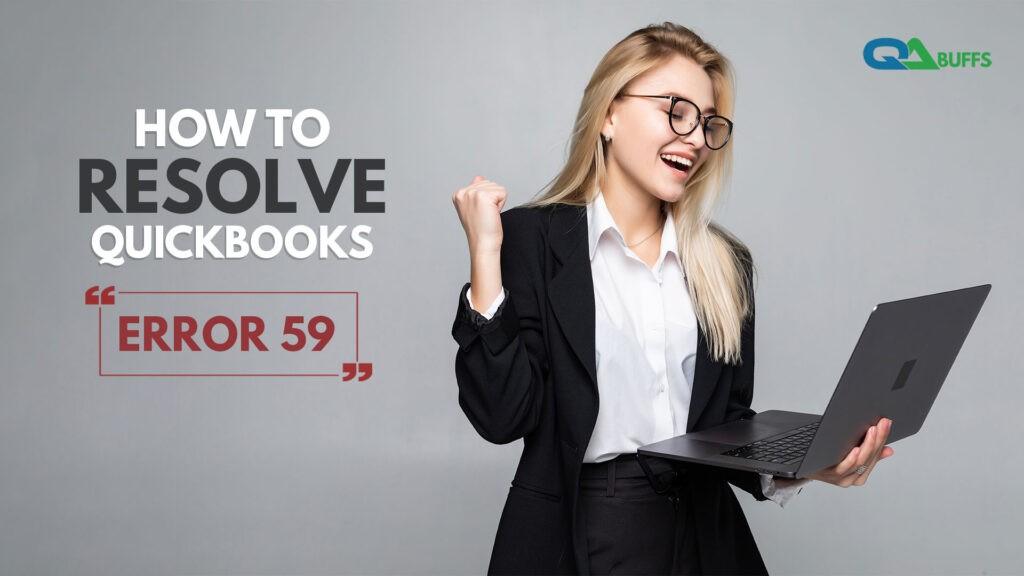 QuickBooks Error 59